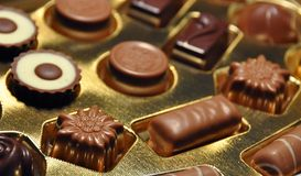 Cioccolato svizzero Immagine Stock Libera da Diritti