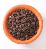 Cioccolato tagliato Fotografia Stock Libera da Diritti
