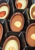 Cioccolato in una casella Immagine Stock