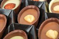 Cioccolato in una casella Fotografia Stock
