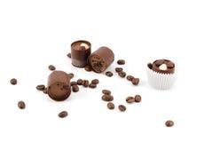 Cioccolato zuccherato Fotografie Stock Libere da Diritti