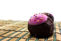cioccolato zuccherato e palla fatta a mano del dolce Immagine Stock