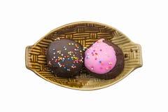cioccolato zuccherato e palla fatta a mano del dolce Immagine Stock Libera da Diritti