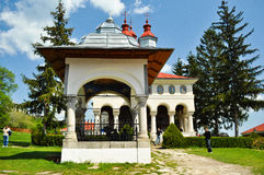 Ciolanu Kloster Lizenzfreies Stockbild