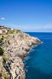 Ciolo bridge. Santa Maria di Leuca. Puglia. Italy. Stock Images