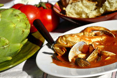 cioppino Fotografia Stock