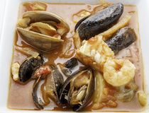 Cioppino close up Stock Photo