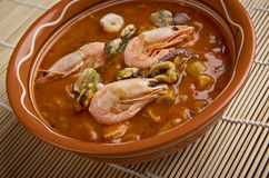 Cioppino is a fish stew Stock Photo