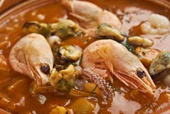 Cioppino is a fish stew Royalty Free Stock Photography