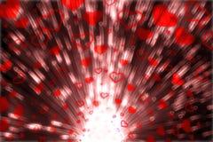 Ciosów serca Zdjęcie Stock