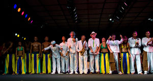 cioski festiwalu jazzowy projecto Umbria Obraz Stock
