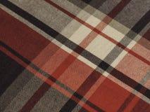 Ciosowa diagonalna tkanina Zdjęcie Royalty Free