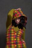 ciosowy dziewczyny waistcoat fotografia royalty free