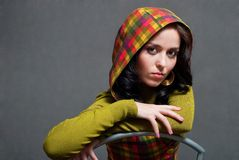 ciosowy dziewczyny waistcoat zdjęcie royalty free