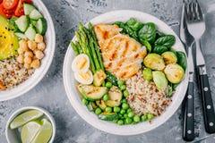 dieta di pollo e asparagi