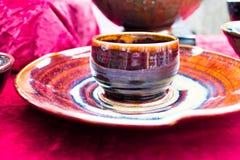 Ciotola ceramica Fotografia Stock