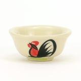 Ciotola ceramica del pollo Fotografie Stock