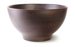 Ciotola ceramica vuota Immagine Stock