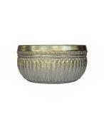 Ciotola d'argento o Khanngoen Immagini Stock