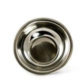 Ciotola da acciaio inossidabile Fotografia Stock