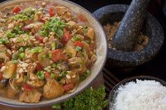 Ciotola del curry Fotografia Stock Libera da Diritti