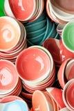 Ciotola della ceramica immagine stock