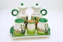 Ciotola della ceramica Fotografie Stock