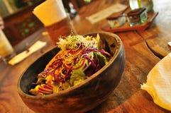 Ciotola di alimento delizioso sano asiatico Fotografia Stock Libera da Diritti