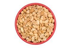 Ciotola di arachidi Fotografie Stock