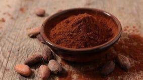 Ciotola di cacao immagini stock libere da diritti