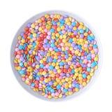 Ciotola di Candy Immagini Stock