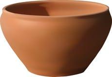 Ciotola di ceramica illustrazione di stock