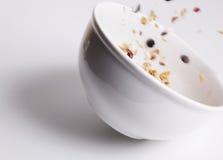 Ciotola di cereale del movimento Immagini Stock Libere da Diritti