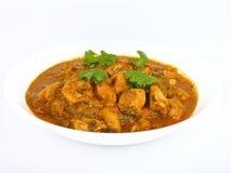 Ciotola di curry del pollo Fotografia Stock Libera da Diritti