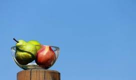 Ciotola di frutta Immagini Stock