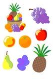 Ciotola di frutta Immagine Stock Libera da Diritti