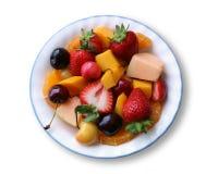 Ciotola di frutta Immagini Stock Libere da Diritti