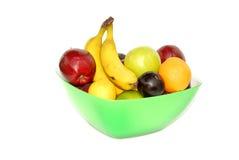 Ciotola di frutta Immagine Stock