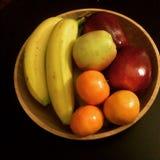 Ciotola di frutta fresca Fotografia Stock Libera da Diritti
