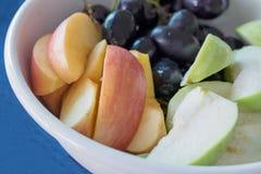Ciotola di frutta fresca Fotografia Stock