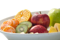 Ciotola di frutti Immagini Stock Libere da Diritti