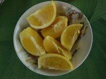Ciotola di limoni Immagine Stock Libera da Diritti