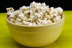 Ciotola di popcorn Fotografia Stock Libera da Diritti