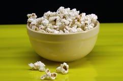 Ciotola di popcorn Immagini Stock