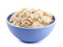Ciotola di porridge dell'avena Fotografia Stock