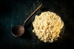 Ciotola di quinoa sana deliziosa Immagine Stock Libera da Diritti