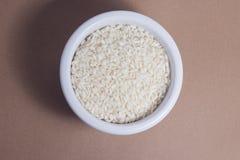 Ciotola di riso Fotografie Stock
