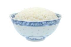 Ciotola di riso cucinato Immagini Stock