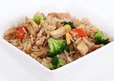 ciotola di riso di verdure Fotografia Stock Libera da Diritti