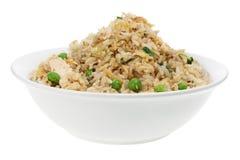 Ciotola di riso fritto fotografia stock libera da diritti